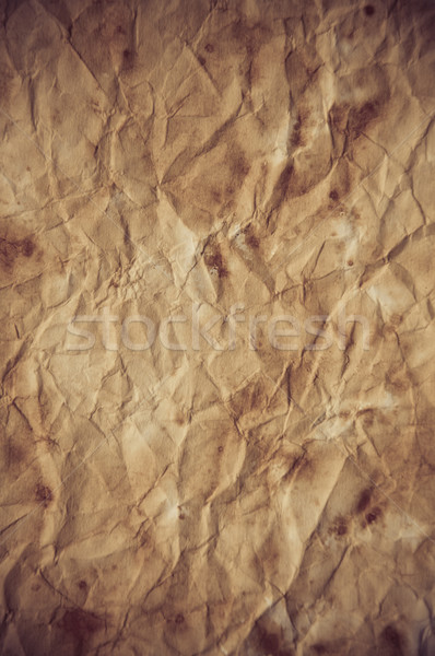 Old vintage paper texture or background Stock photo © tarczas