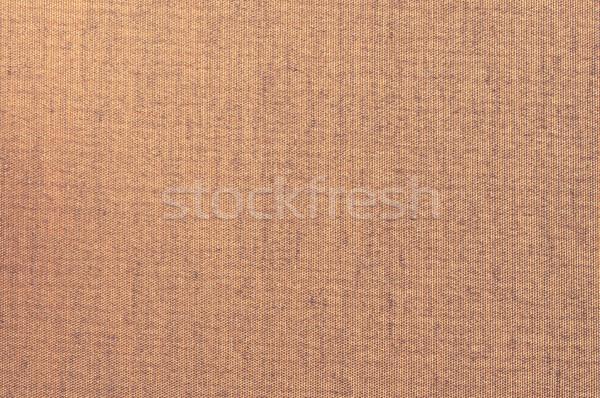 Brown Grunge Textile Canvas Background  Stock photo © tarczas