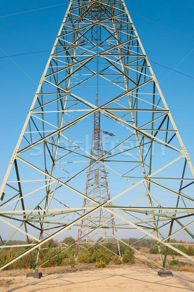 技術 産業 電源 ケーブル 電気 ストックフォト © tarczas