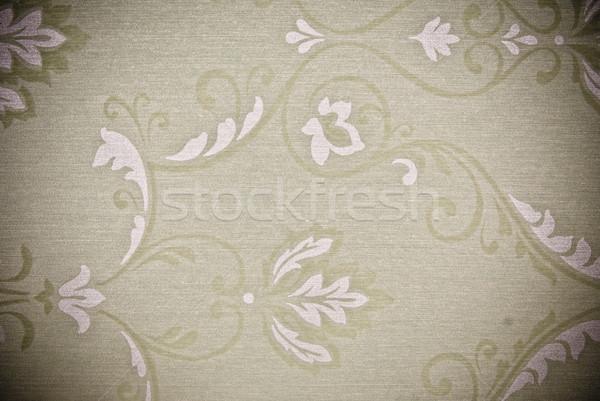 ストックフォト: 花 · 抽象的な · テクスチャ · 紙 · 壁 · デザイン