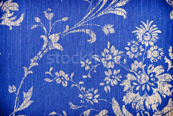 синий цветок аннотация текстуры цветок бумаги стены Сток-фото © tarczas
