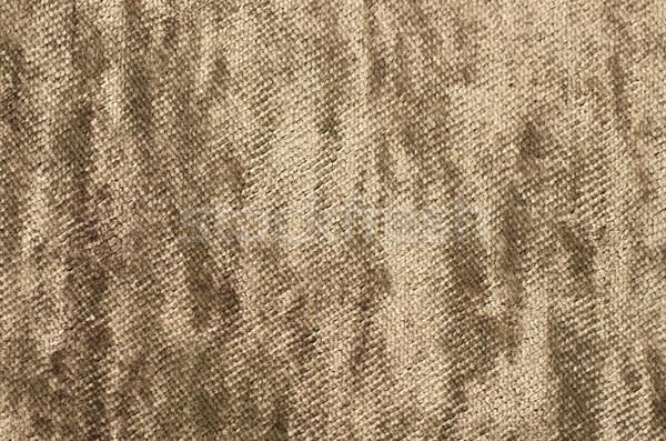 Eski grunge tekstil tuval doku duvar Stok fotoğraf © tarczas