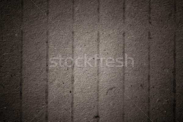 Oude gebruikt karton papier kaart patroon Stockfoto © tarczas