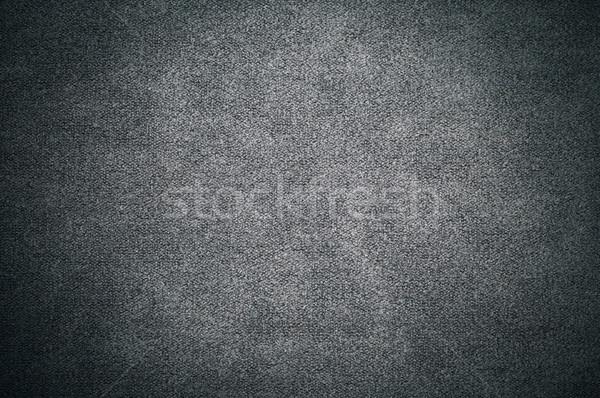 Karanlık grunge tekstil tuval eski doku Stok fotoğraf © tarczas