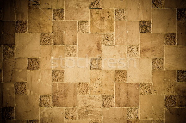abstract stone quadratic background or texture Stock photo © tarczas