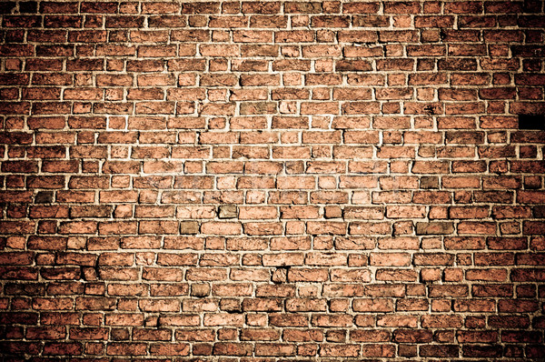Background of brick wall texture   Stock photo © tarczas