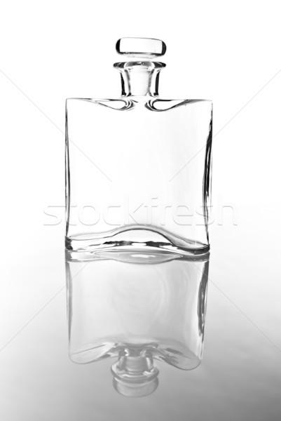 empty carafe in black and white Stock photo © tarczas
