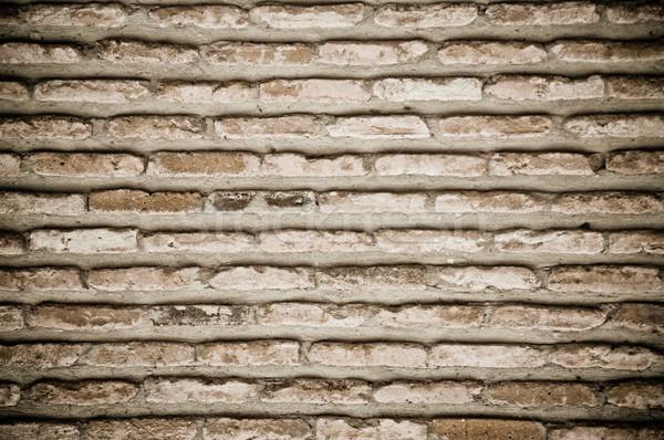 Dark Old Brick Wall Texture Stock photo © tarczas