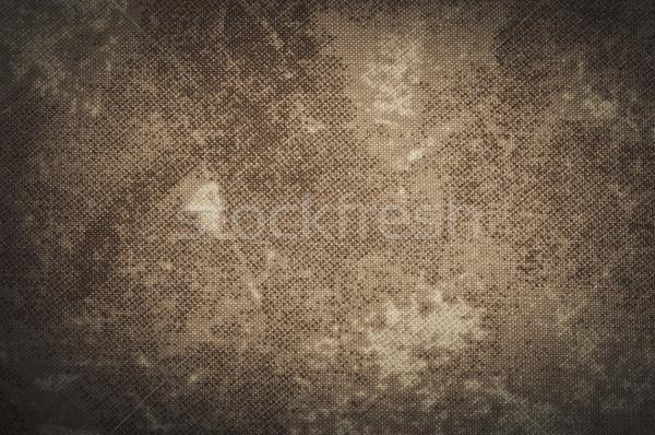 öreg grunge textil vászon textúra fal Stock fotó © tarczas