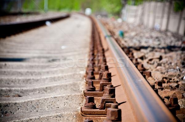 railway track lines  Stock photo © tarczas