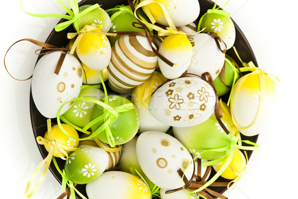easter eggs Stock photo © tarczas