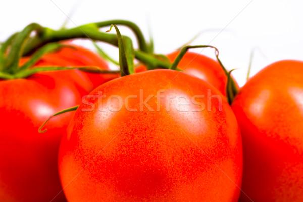 Bos rijp vers Rood tomaten voedsel Stockfoto © tarczas