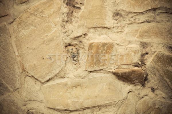 Mur tekstury budowy ściany kamień cegły Zdjęcia stock © tarczas