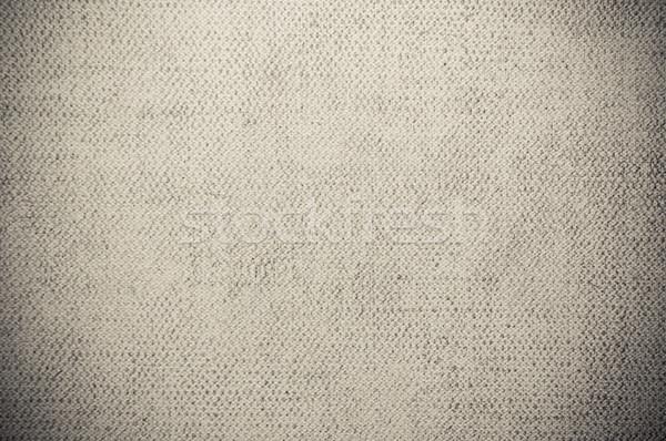 Szürke sötét vászon textúra fal természet Stock fotó © tarczas