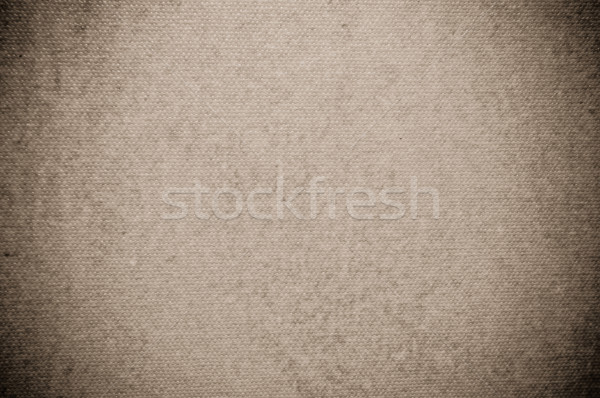 brown beige canvas texture or background  Stock photo © tarczas