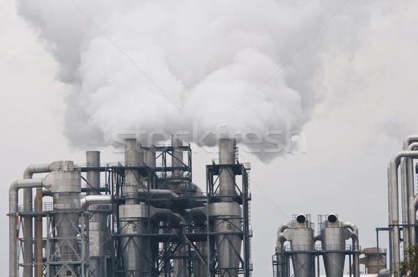 Sale fumée pollution usine technologie air Photo stock © tarczas