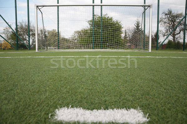 penalty area on football court  Stock photo © tarczas