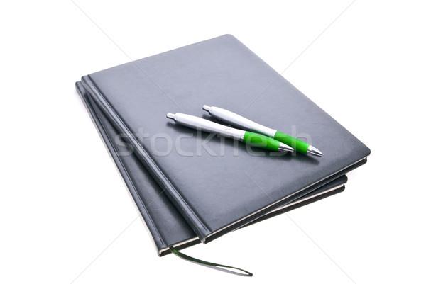 businessman office instruments kit Stock photo © tarczas