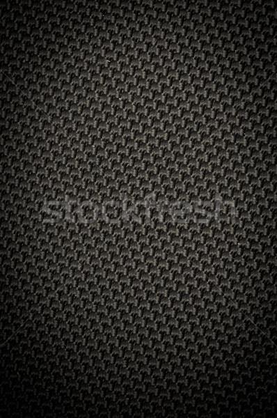 Sötét grunge vászon textúra terv háttér Stock fotó © tarczas