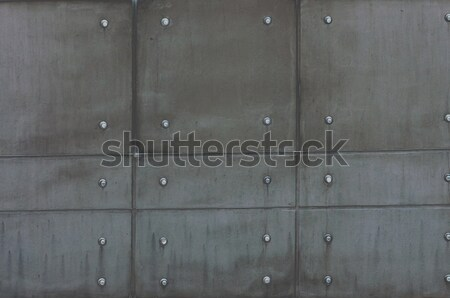 metal plate abstract background texture  Stock photo © tarczas