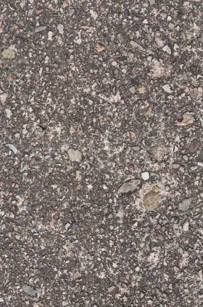 Asfalto texture strada nero Foto d'archivio © tarczas