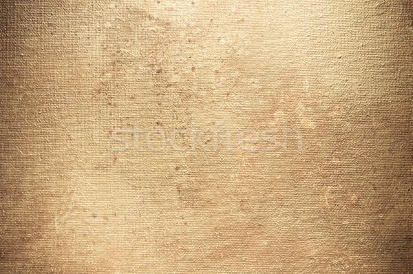 Textúra öreg vászon szövet háttér retro Stock fotó © tarczas