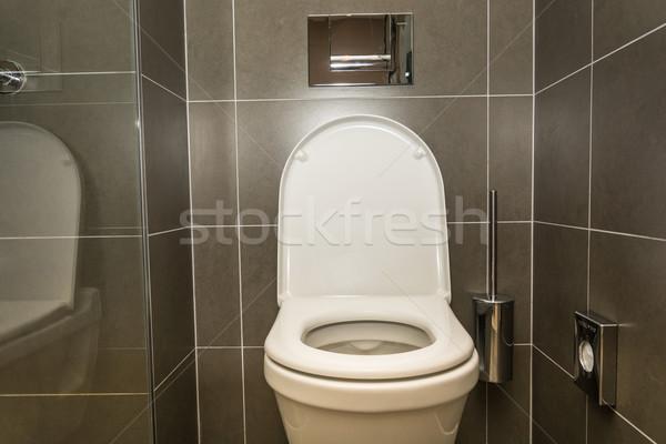 Interior quarto banheiro banheiro casa moderno Foto stock © tarczas