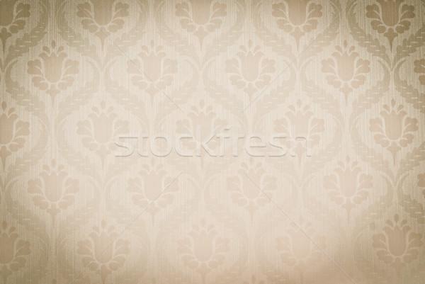 Foto stock: Sem · costura · abstrato · textura · papel · parede · projeto