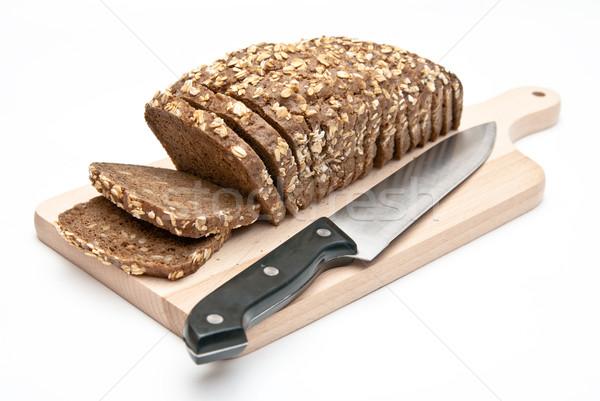 wholemeal bread on kitchen board  Stock photo © tarczas