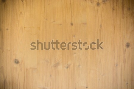 Stock photo: the brown old wood texture with knot