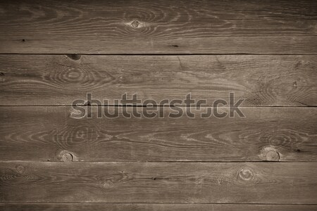 the brown old wood texture with knot  Stock photo © tarczas
