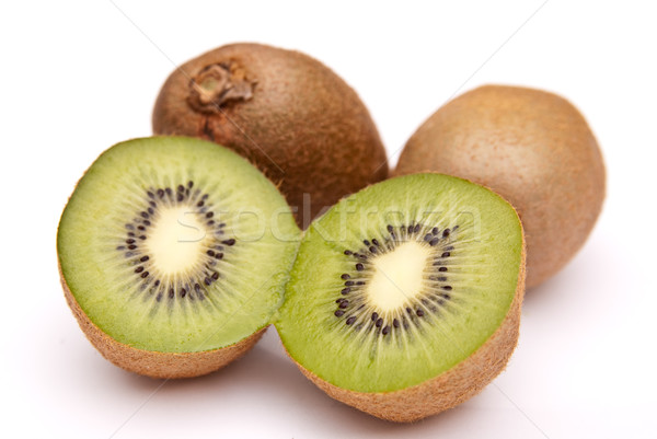 kiwi divided into halves Stock photo © tarczas