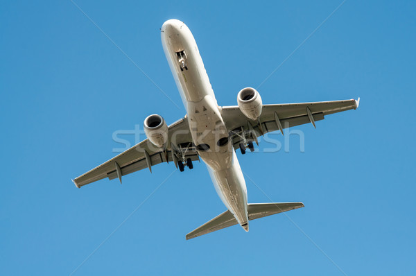 Big airplane in the sky - Passenger Airliner aircraft  Stock photo © tarczas