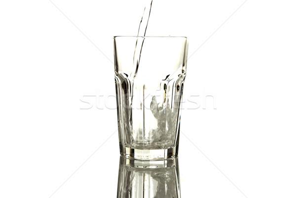 üveg ásványvíz egészség háttér bár ital Stock fotó © tarczas