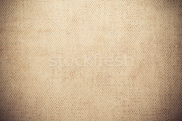 brown beige canvas texture or background  Stock photo © tarczas