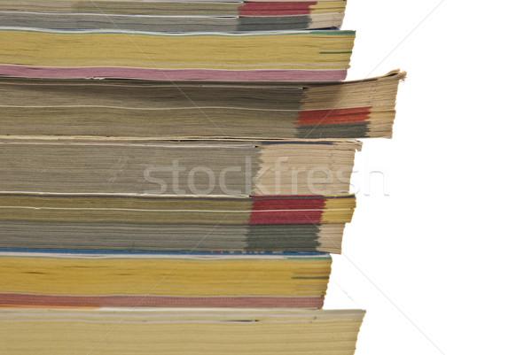 stack of phonebooks Stock photo © tarczas