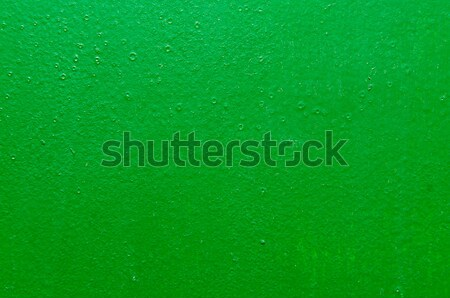 green structural painted wallpaper on the wall Stock photo © tarczas