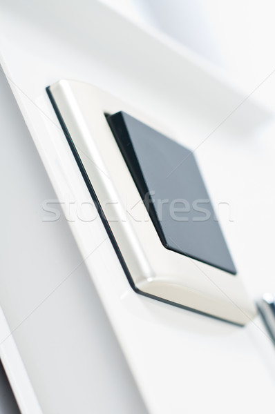 light switch on the wall Stock photo © tarczas