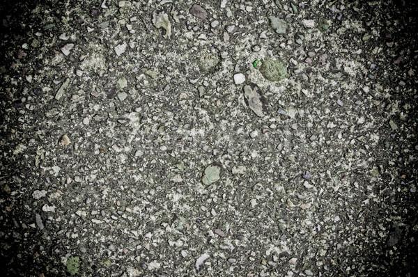 Asfalto texture sfondo nero materiale Foto d'archivio © tarczas