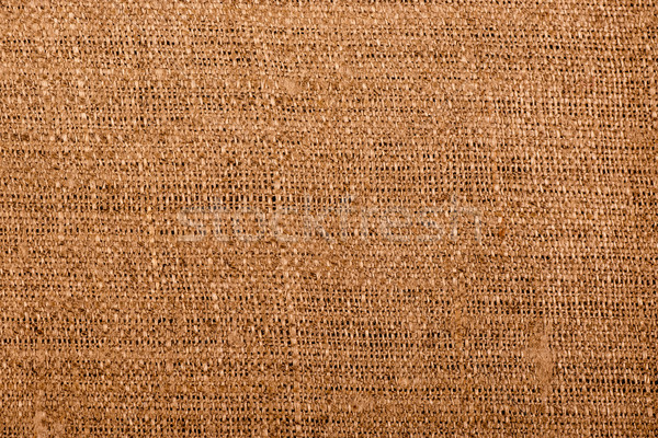 Texture sack canvas to use as background Stock photo © tarczas