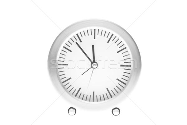 семь полночь часы интерьер Смотреть Сток-фото © tarczas