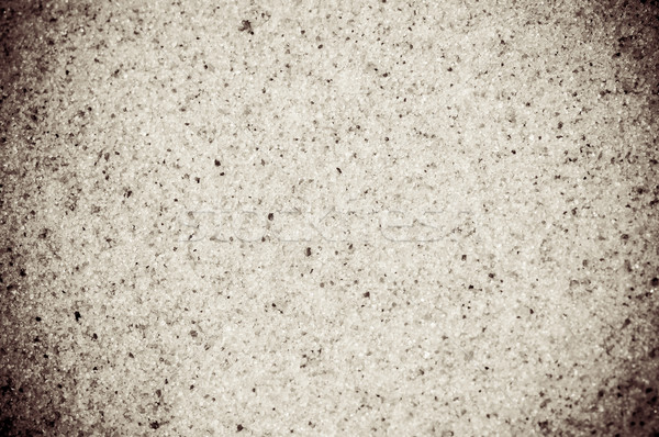 Coarse sand background texture. Macro of coarse sand grains Stock photo © tarczas