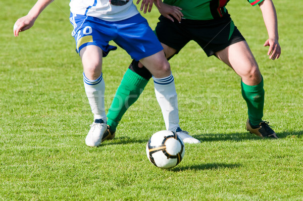 Stock photo: football match