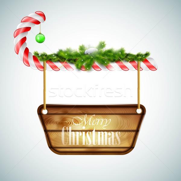 Christmas snoep textuur gelukkig achtergrond Stockfoto © TarikVision