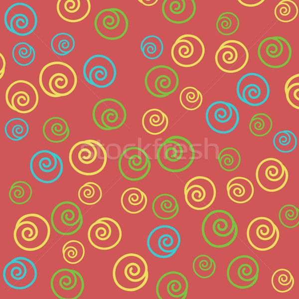 Seamless abstract hand-drawn pattern Stock photo © TarikVision