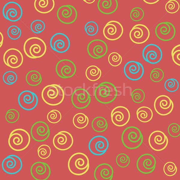 Naadloos abstract patroon kan gebruikt behang Stockfoto © TarikVision