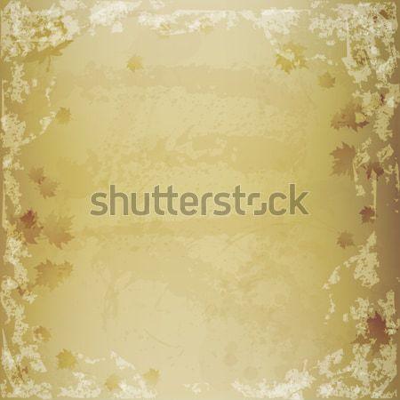 Otono textura grunge hojas textura naturaleza fondo Foto stock © TarikVision