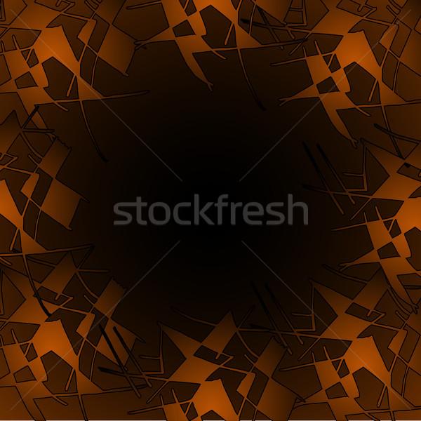 Színek mozaik minta külső ahogy tákolmány Stock fotó © TarikVision