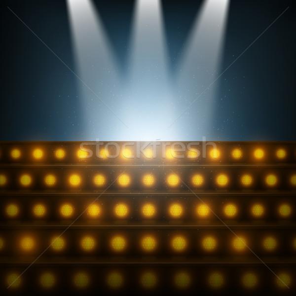 階段 ステージ パーティ 抽象的な 光 ストックフォト © TarikVision
