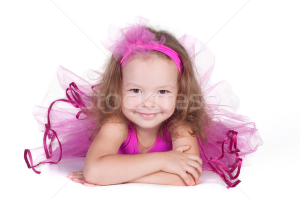 fashion little princess girl portrait Stock photo © TarikVision